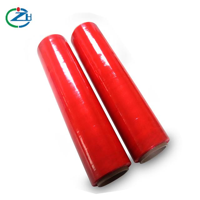 红色拉伸膜